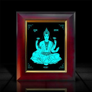 Goddess Lakshmi Frame l LumiLor Sprayable Light l Lakshmi Photo Frame