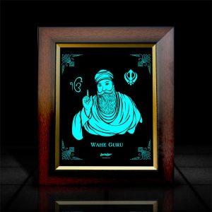 Wahe Guru LumiLor Frame | LumiLor Sprayable Light | Wahe Guru G Frame