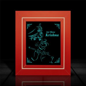 Lord Krishna LumiLor l LumiLor Sprayable Light l Lord Krishna Frame