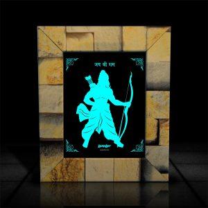 Warrior Ram LumiLor l Lord Ram Photo Frames, Designer Lord Ram Photo Frames-LumilorStore