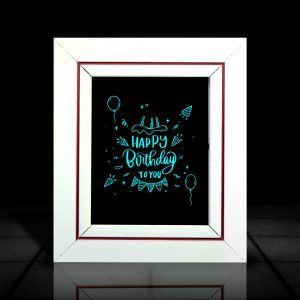 Birthday Frame l LumiLor l Buy Happy Birthday Frame Online India