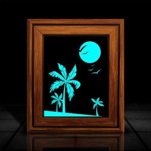 Island l LumiLor Sprayable Light l LumiLor island frame