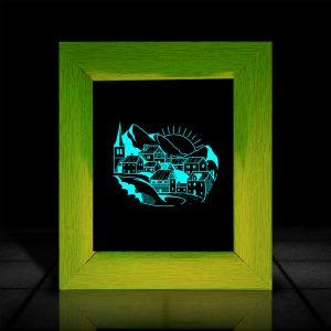 Beautiful Scenery l LumiLor Sprayable Light l Buy Wall Scenery Frame Online