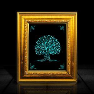 Tree frame l LumiLor Sprayable Light l Tree Photo Frame