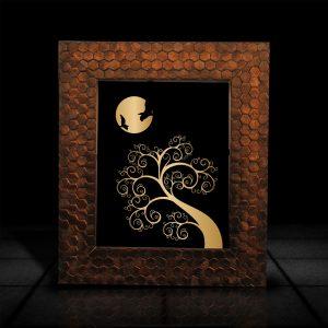 Tree design l LumiLor Sprayable Light l Tree Design Art